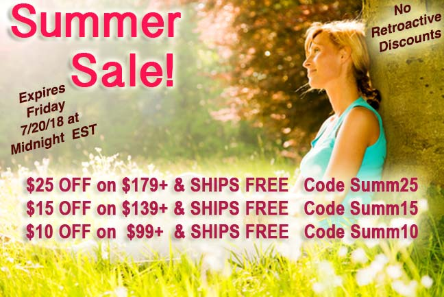 Dr. Fosters Essentials Summer Sale
