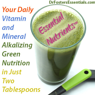 Essential Nutrients Chlorella Spirulina Wheatgrass Dr